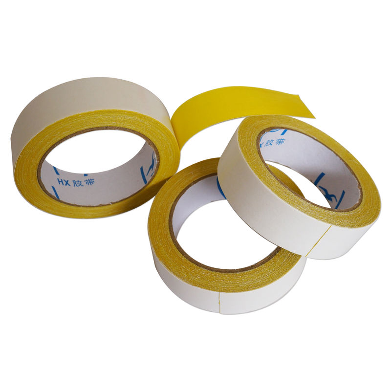 1.88inch Heavy Duty Double Faced Carpet Tape High Viscosity Easy Tear Gauze Fiber