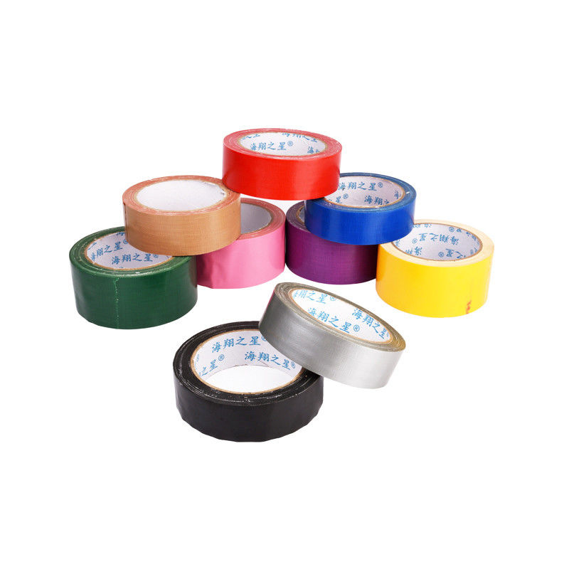 Yellow / Silver Multi Colored Heavy Duty Duct Tape Heavy Strapping Adhesive
