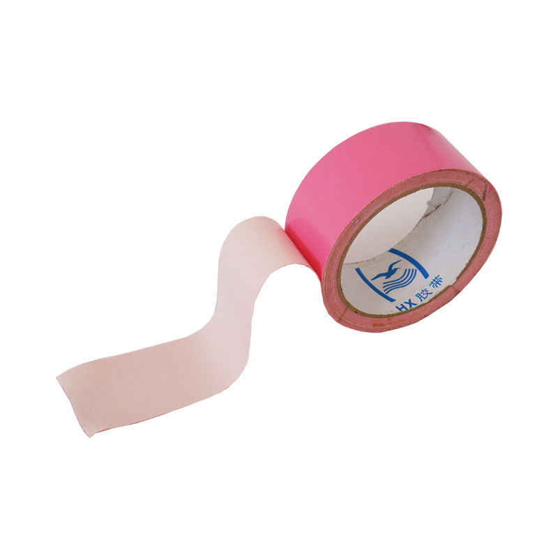 Hot Pink Water Resistant Wide Duct Tape Pressure Sensitive Package Protection
