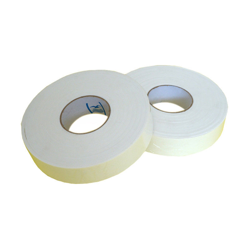 Strong Double Sided EVA Foam Tape Hot Melt Adhesive Anti Crack Rain Gear Applied