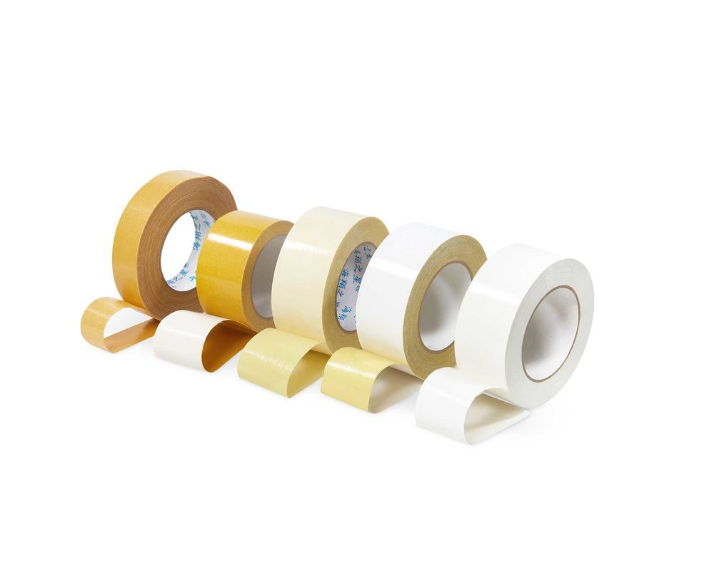 Cloth Duct Heat Resistant Double Sided Tape No Residue Fit Rugs On Carpets
